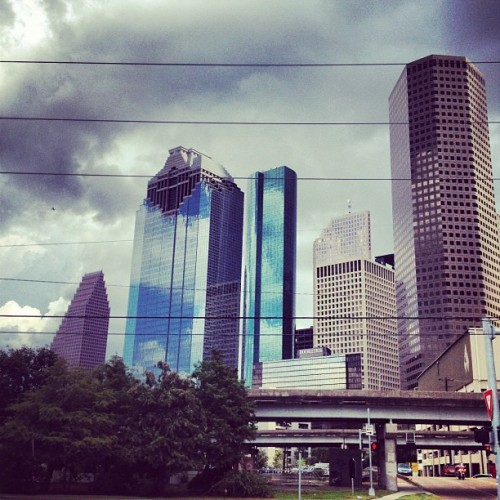 Love working in downtown #Houston  (Taken with Instagram)