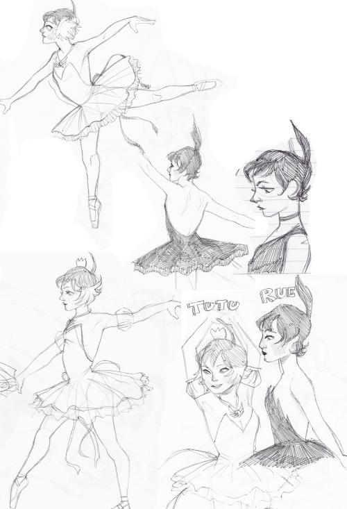 some ballpoint princess tutus from the past week