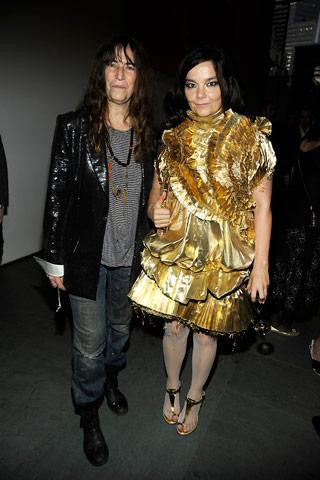 Everyone is friends! From Bjork to Bjork