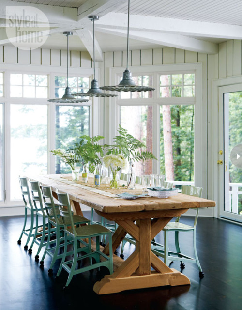 Design by Ingrid Oomen, Photograph by Michael Graydon (via Style At Home)