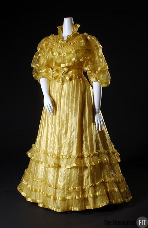 Dress Worth, 1892 The Museum at FIT