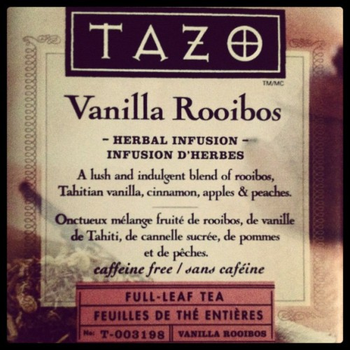 Favorite TAZO tea.  (Taken with Instagram)