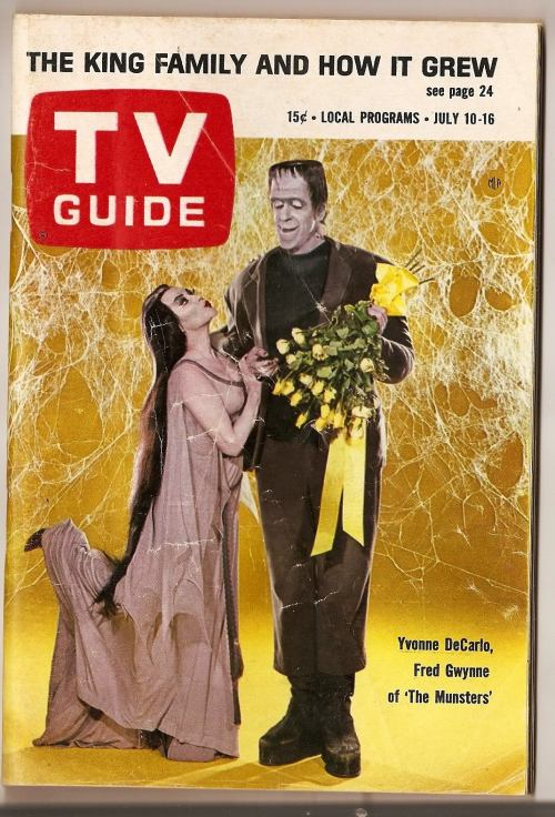 TV Guide - Munsters cover (1965)