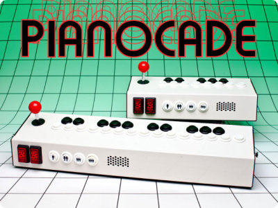 Want this pretty hard. http://www.geekologie.com/2012/09/kind-of-want-pianocade-arcade-games-soun.php