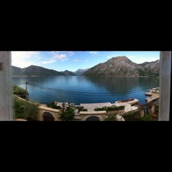 How's this for a morning view..  (Taken with Instagram at Baza - Montenegro)