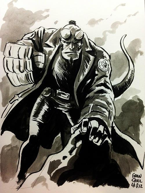 Hellboy by Francesco Francavilla