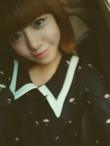 Photo: 120915 Apink Namjoo Wagle Update