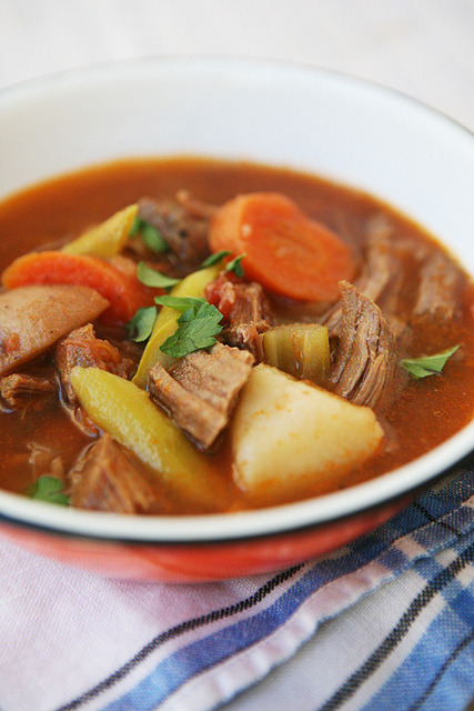beef soup by m•o•m on Flickr.