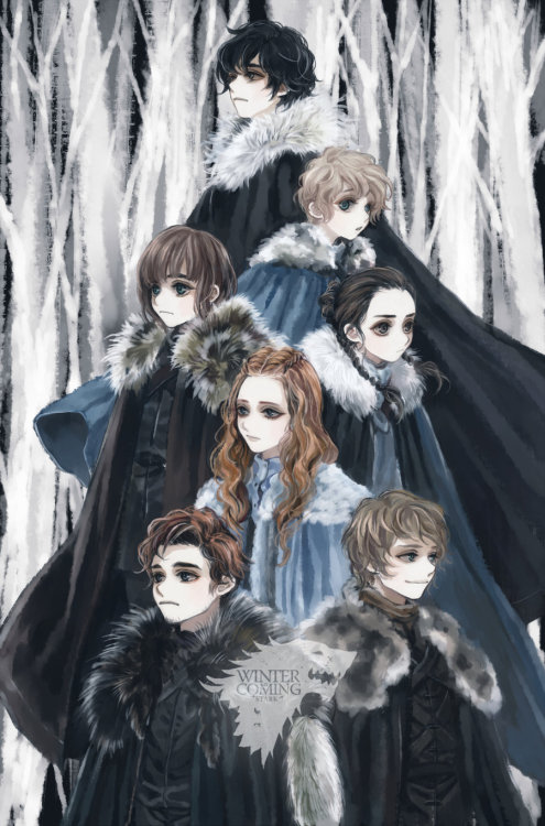 potions-master:  Winter Is Coming by ~tyusiu
