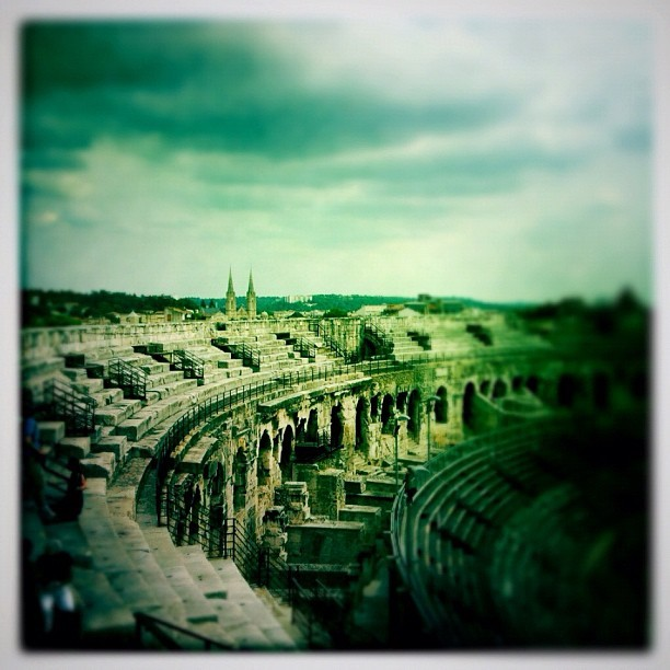Nimes Arena (Taken with Instagram)
