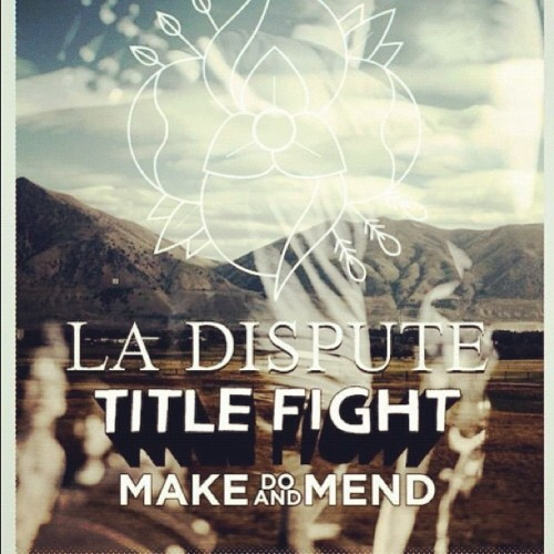 This Friday session recording in Antwerp, who's in? #titlefight #ladispute #makedoandmend #intoitoverit (Taken with Instagram)