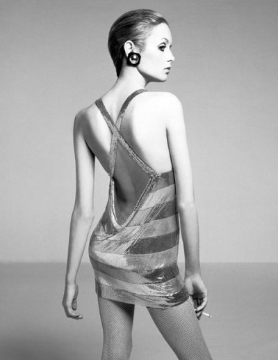oystermag:  London Fashion Week Interview: Twiggy