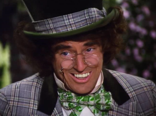 thealiceofwonderland:  The Mad Hatter Alice in Wonderland (1985)