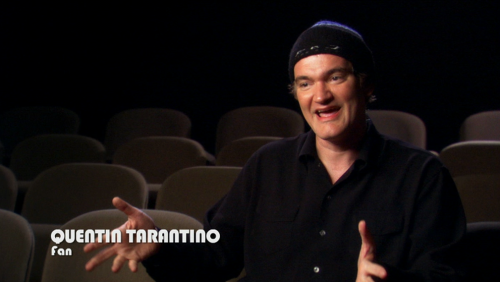 The best description of Tarantino that I have ever seen.