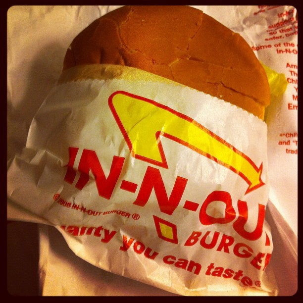 Hai there #burger #fastfood #inandout #bicoastalwedding #latergram  (Taken with Instagram at Embassy Suites)