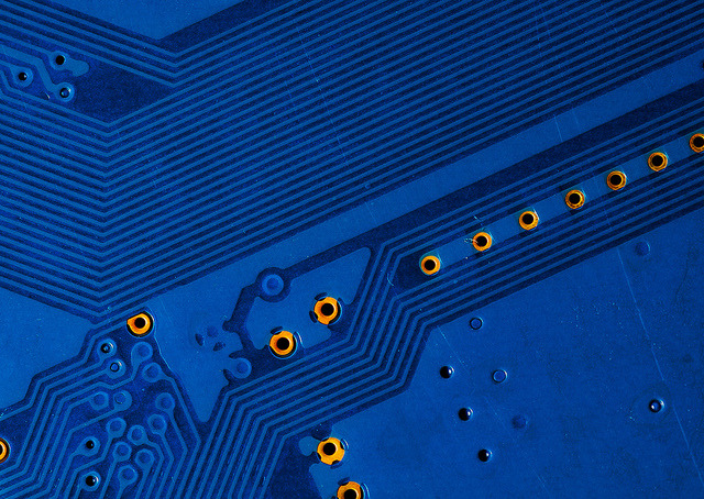 circuit board blues on Flickr.