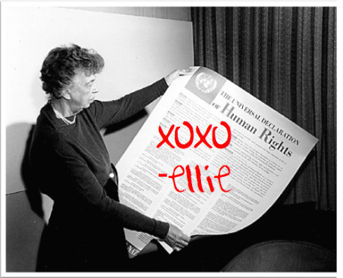 ELEANOR ROOSEVELT GOES DEAR ABBY: TELL GRANDMA ELLIE ALL ABOUT ITby Courtney Barnett http://bit.ly/PhQJxx