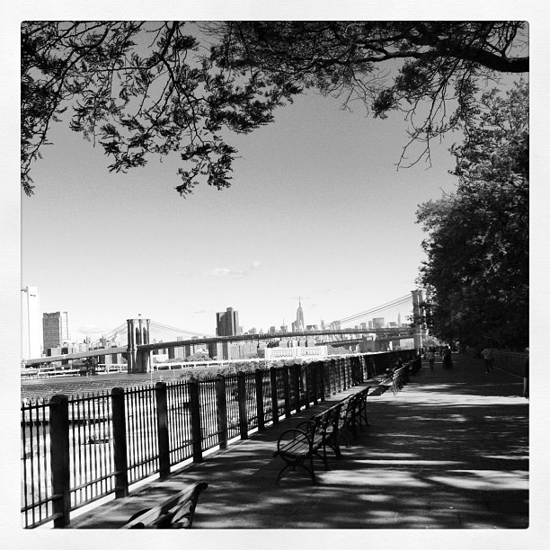 #promenade #esplanade #NYC #Brooklyn (Taken with Instagram at Brooklyn Heights Promenade)