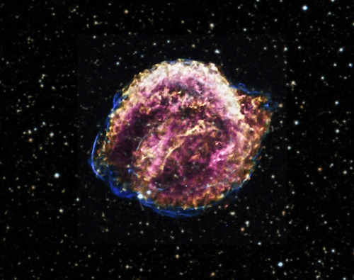 X-ray telescope produces gorgeous photos of Kepler supernova's remains