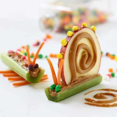 veganfeast:  gastrogirl:  snail snacks.  Play with Your Food!