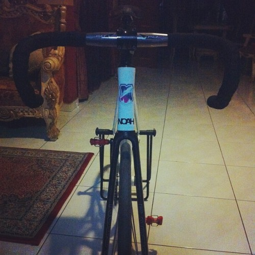 Pro plt size 44 @mashsf #mash #noah #pro #dropbars #bike #home  (Taken with Instagram)