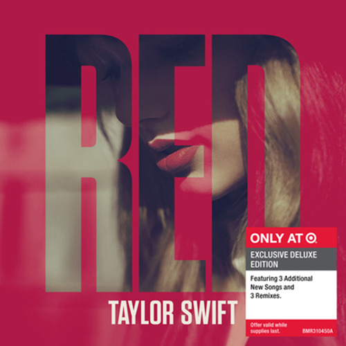 Red Deluxe edition is available to preorder at Target for 16.99 (x)    Still no tracklist, boo