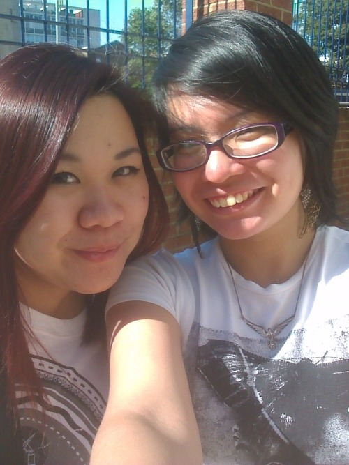 With Daphne, my new Singaporean friend whom i met on the first day :3 God is so good :)