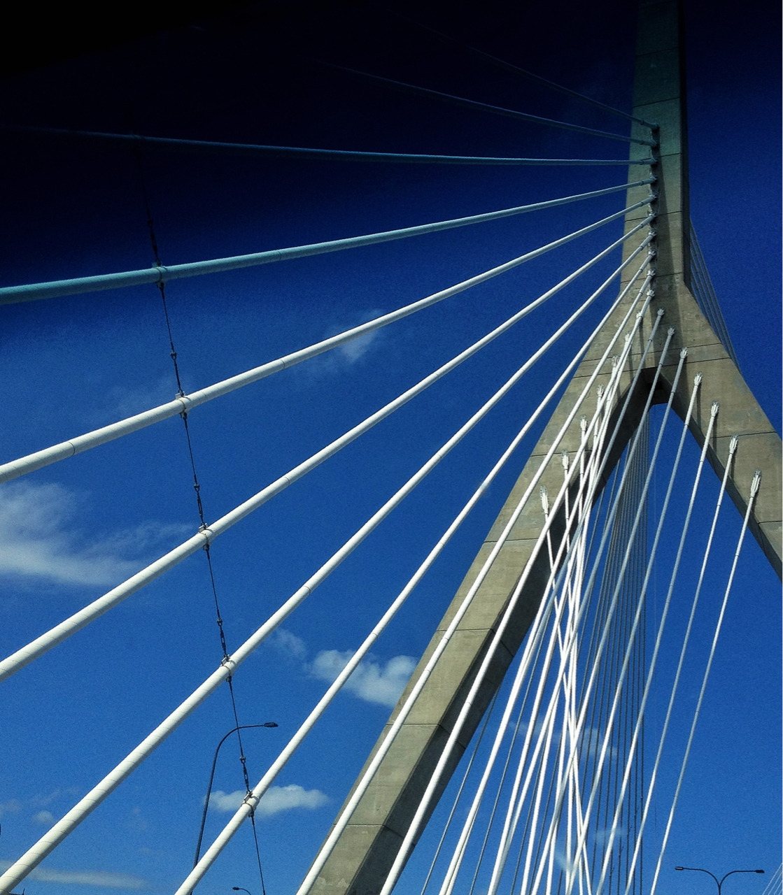 Leonard P. Zakim Bunker Hill Memorial Bridge - possibly the longest bridge name ever