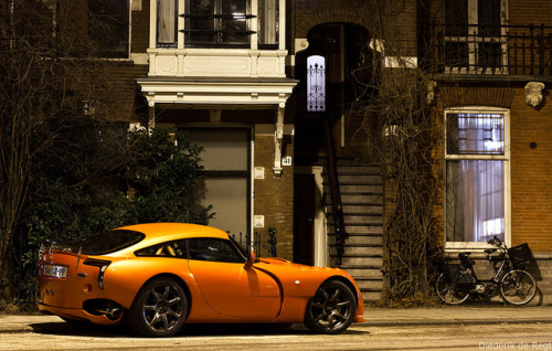 motoverso:  TVR Sagaris by Diederik de Regt on Flickr.