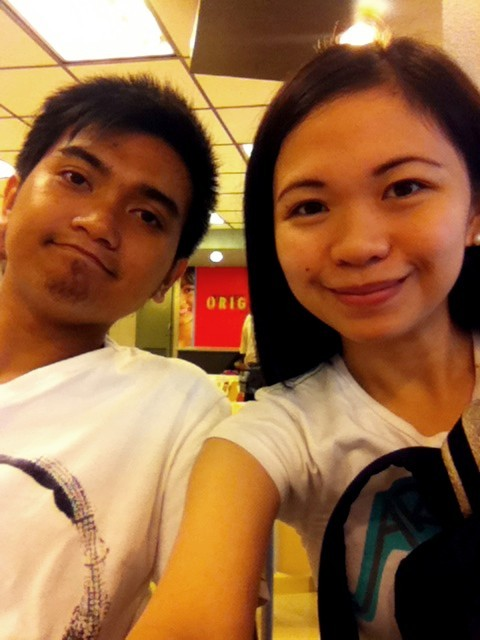 Another afternoon with the love of my life. =)))