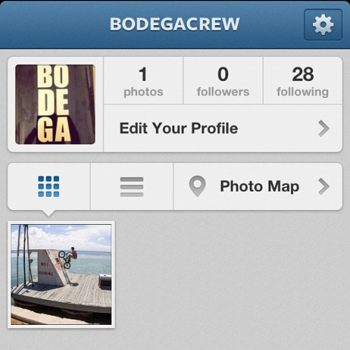 Follow @bodegacrew!  (Taken with Instagram)