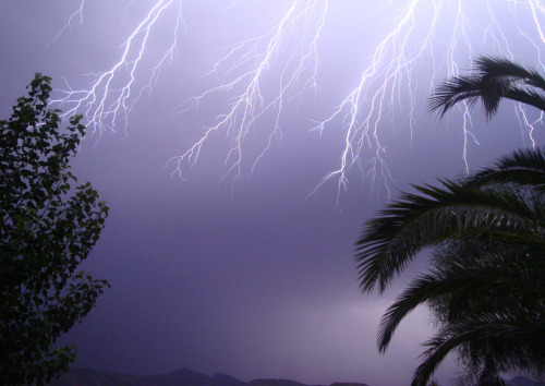 lightening over southern spain                                                                                                                        photo;.. charlotte lm  via flickr