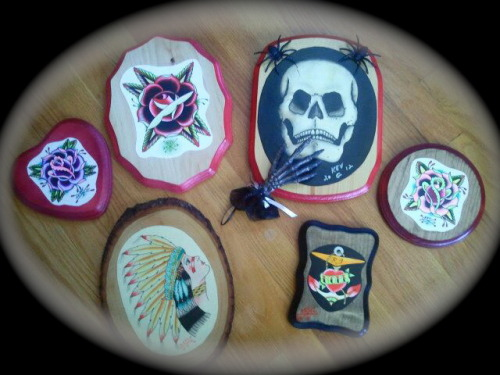 They are all for sale in my Etsy store!http://www.etsy.com/shop/TattooingbyKevG Tattooing by Kev G / Rhode Island