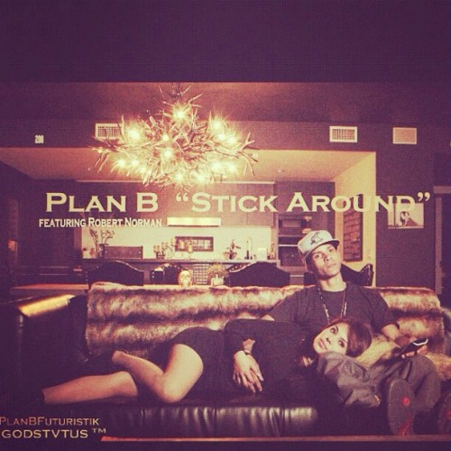 Now on iTunes! @PlanBFuturistik ft @ImRobertNorman ⚡Stick Around⚡ Download Now! #GODSTVTUS http://t.co/YYlZX7G7 (Taken with Instagram)