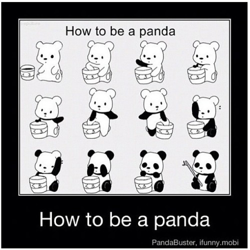 How to be a #Panda  #instafashion #armswag #instadaily #instagood #instainsta #instamood #instahub #iphoneonly #all_shot #mensfashion #travel #iphonesia #brunika #instabru #igsg #sgig #ignation #igdaily #jj #statigram #webstagram #iphone4s  (Taken with Instagram)