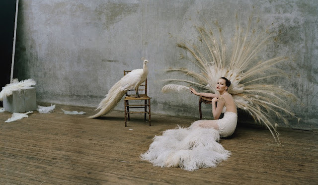 walkingthruafog:  Jennifer Lawrence by Tim Walker for W Magazine