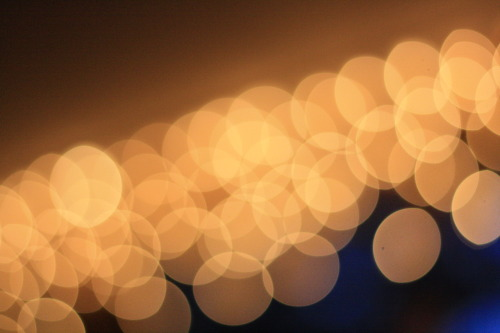 Overflowing with Holiday bokeh!