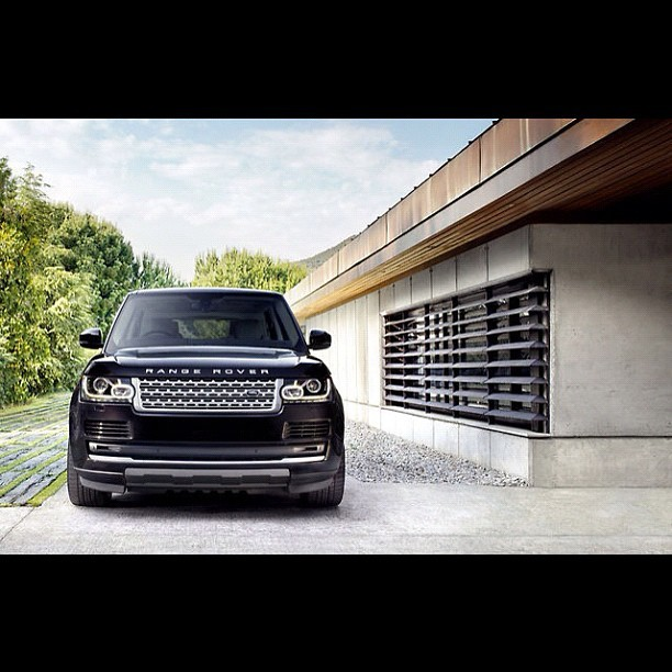 Range Rover 2013 (Taken with Instagram)