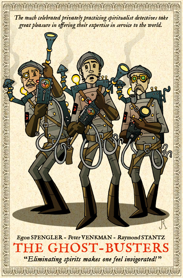 buzzfeed:  Steampunk Ghostbusters? Shut up and take my money!