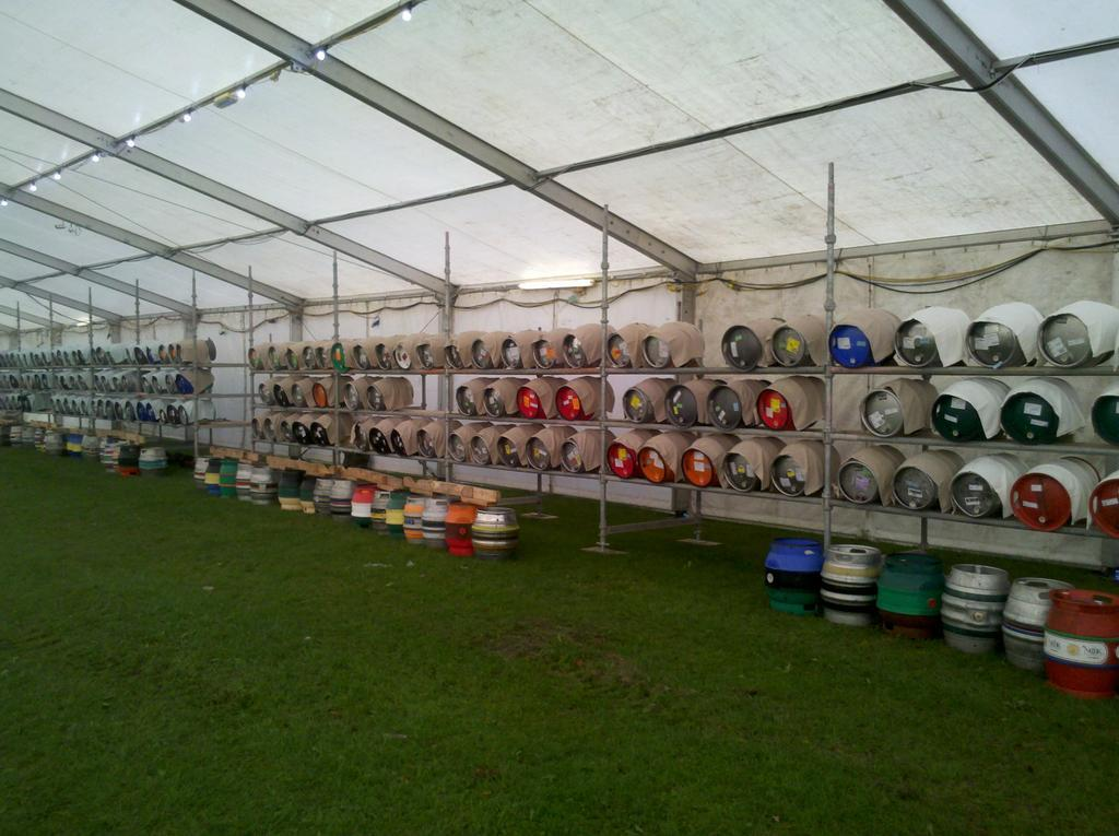 York Beer & Cider Festival 2012 Unless you've been living under a rock sat on by an obese toad you should know that the 4th Knavesmire CAMRA Beer & Cider Festival is starting on Wednesday right through till Saturday 22nd. Myself and Mark, who do most of the reviews for Within the Walls, are very proud to have been asked to be on the judging panel to decide on the best LocAle. From looking at the beer list I'm wondering just how many we'll need to taste, especially seen as I have to work on Thursday, lol. Either way when you're down the Festival look out for the winning LocAle as judged by us! Sure it'll be all over twitter too. LocAle by the way referes to any locally brewed beer within about 25miles of York I do believe. Check out their website to view the newly released beer list, well over 300 beers and 100 ciders, too many to mention here. http://www.yorkbeerfestival.org.uk/2012/