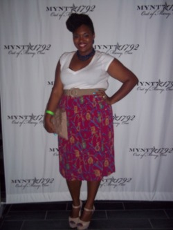 my look for Mynt Jeans & Plus Model Mag event…read about! A Thick Girls Closet