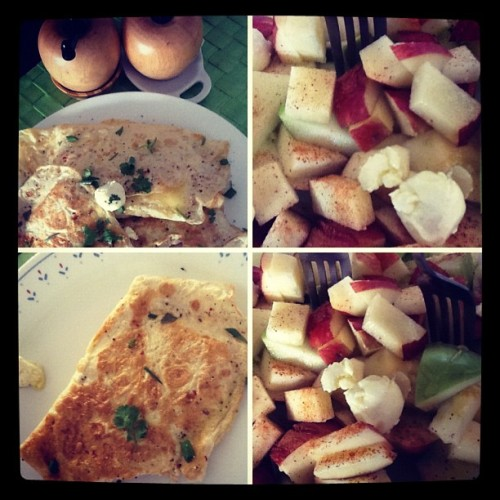 #anatomy of a #breakfast (Taken with Instagram)