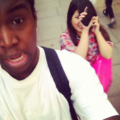 With the whore 😂 @elyssie (Taken with Instagram)