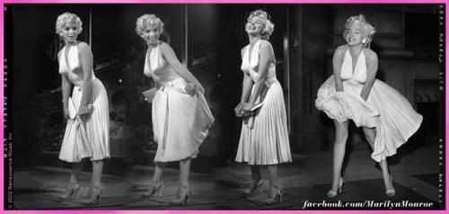 TODAY 15th SEPTEMBER marks the 58th anniversary of Marilyn's famous white dress blowing above the subway grate while filming 'The Seven Year Itch'