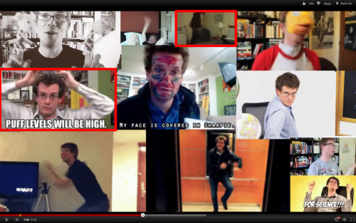OF THE 11 GIFS IN THE 1000 VIDEOS VIDEO TWO OF THEM ARE MINE man i'm kind of excited but yeah hmm this reminds me there's a ton of Vlogbrothers videos from the past few months that i haven't watched because i haven't been super-into YouTube lately but congratulations John and Hank because watching your videos back in 2010 was one of the best decisions i've made