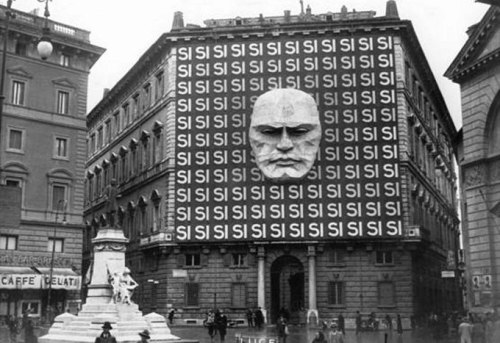 Mussolini's Fascist Headquarters in Rome