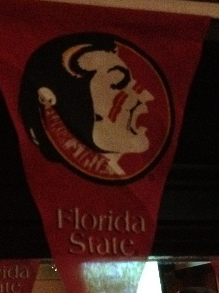 A Beerious Girls salute to the FSU Seminoles!  52-0 over Wake Forest.  Beerious!