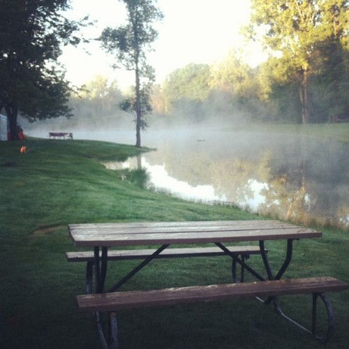 Good morning! Camping! ⛺ (Taken with Instagram)