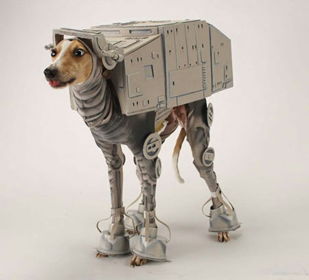 AT-AT Dog Edition.