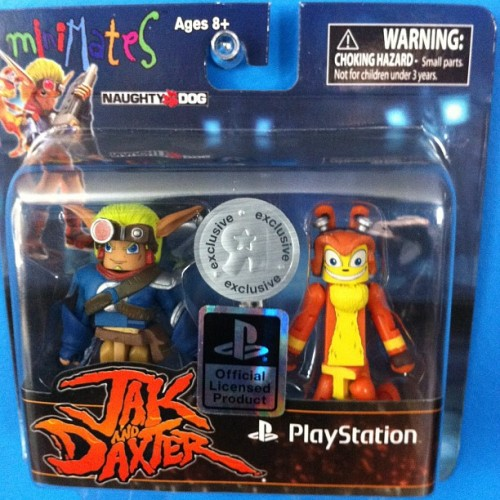 I'm a sucker for playstation figures #actionfigure #minimates #jakanddaxter #jak2 #resistance #sony #playstation #kiljoyvideo #sablerage #50likes #gamer #gamerfollowback #uncharted  (Taken with Instagram)